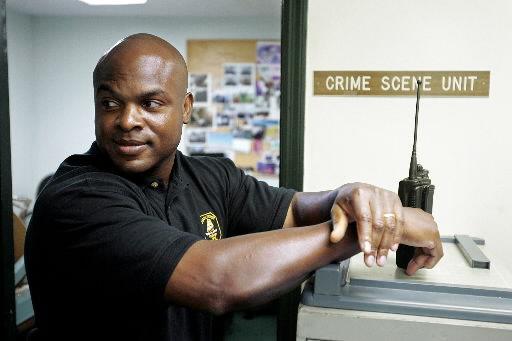 Real-life crime scene investigator