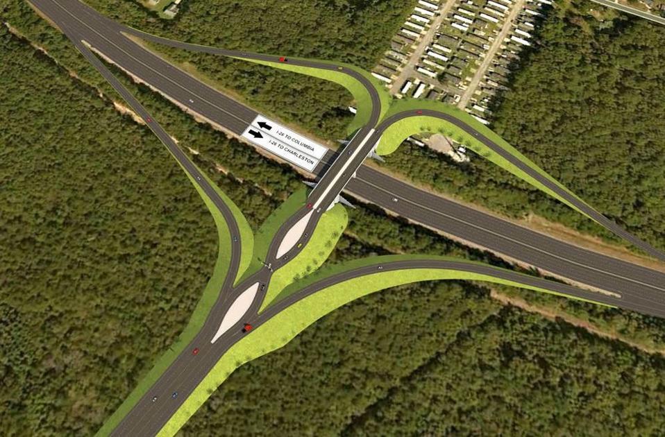 Public to hear plans for proposed North Charleston Palmetto Commerce Interchange