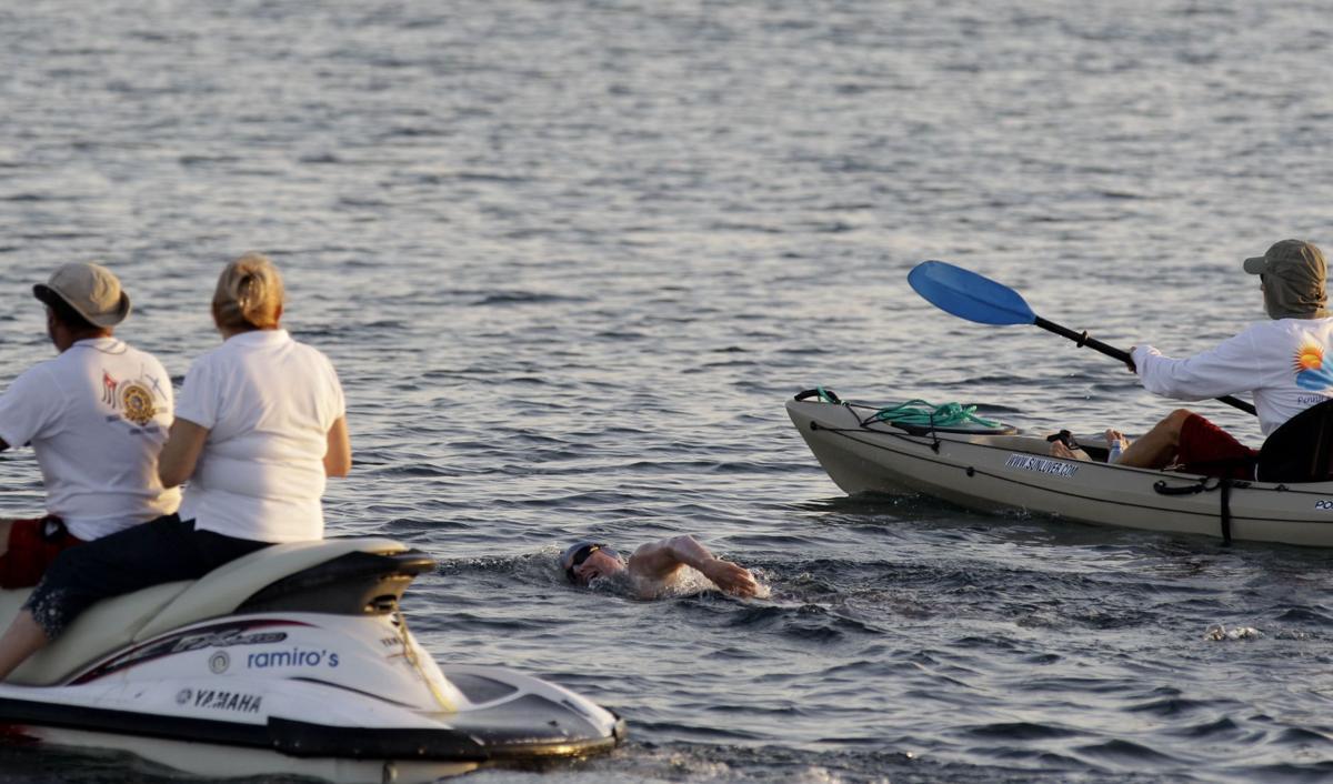 Palfrey ends Cuba-Florida swim 26 miles short of goal