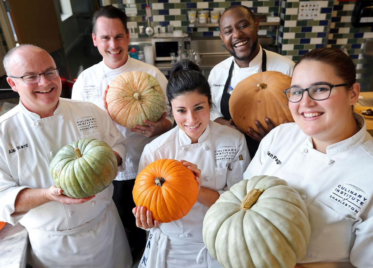 Pumpkin recipes from Culinary Institute students
