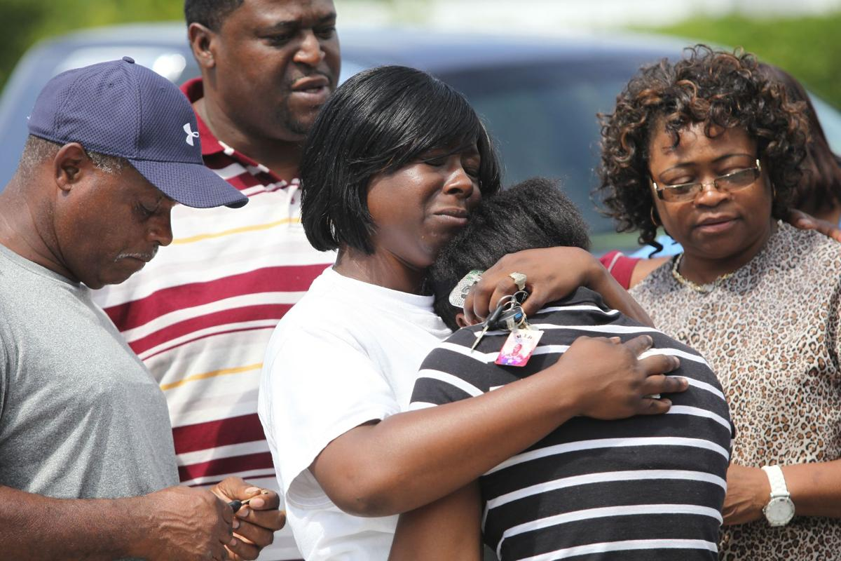 Victim's family seeks answers Murder suspect Eady stays silent Man