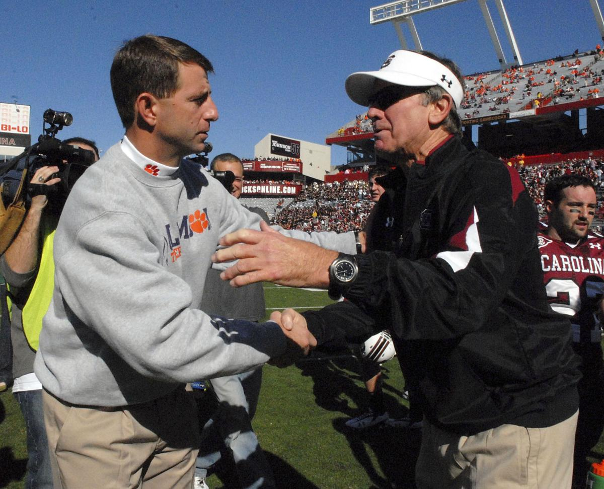 Uneasy alliance Fans of USC, Clemson should support each other
