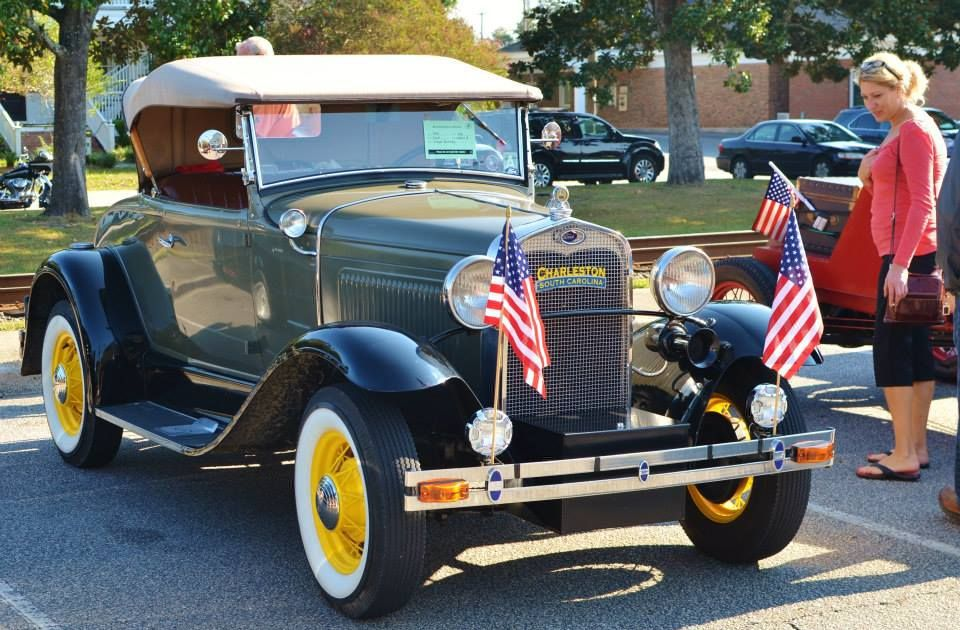 Summerville's downtown district enjoys wonder-filled time hosting variety-rich weekend car show