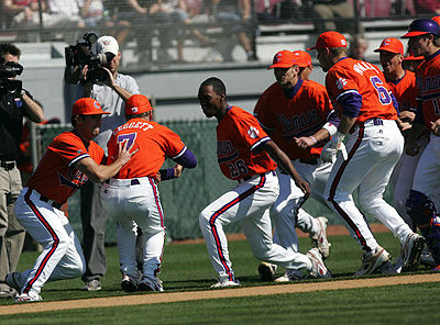 Clemson Carolina baseball