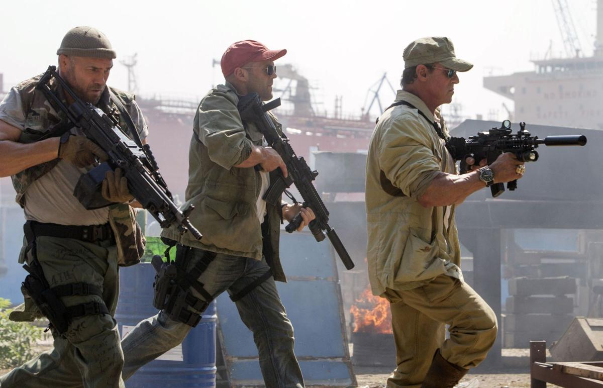 New tricks can't rescue stale 'Expendables 3'