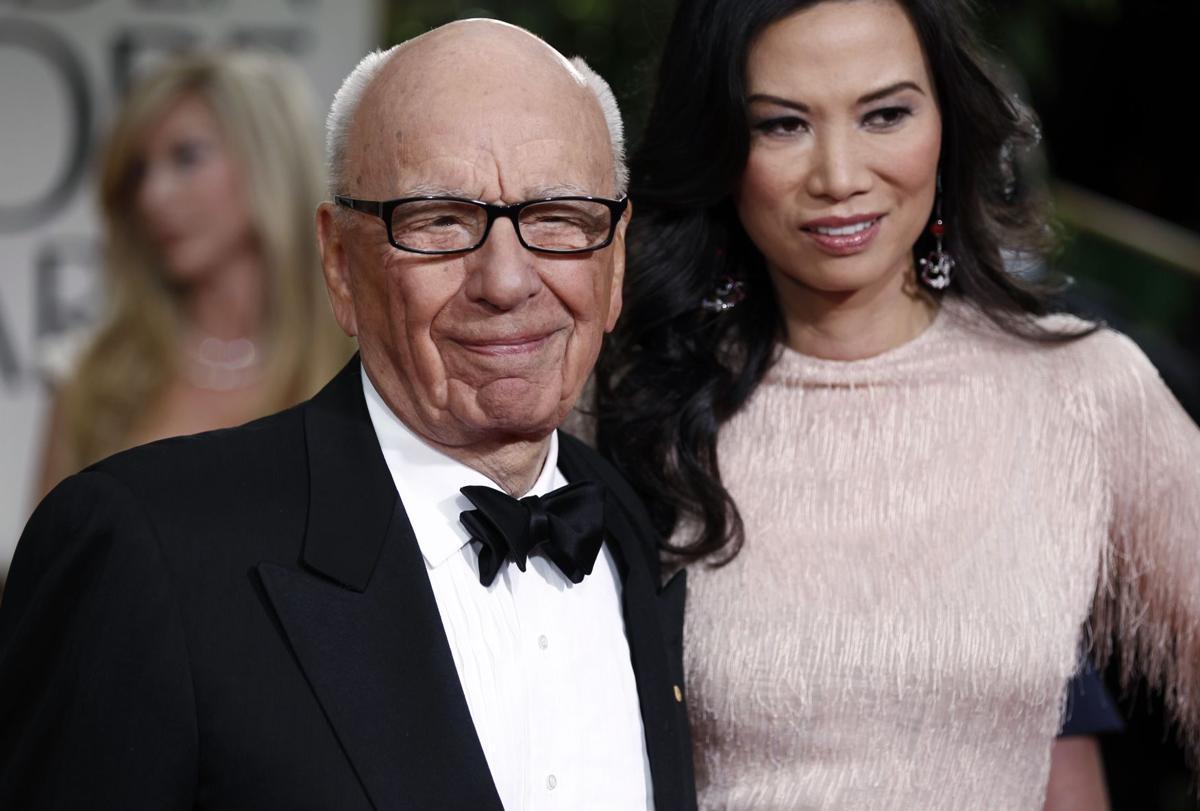 BC-US--Rupert Murdoch-Divorce, 3rd Ld Writethru,459<\n>Rupert Murdoch files for divorce from Wendi Deng<\n>AP Photo NYBZ121