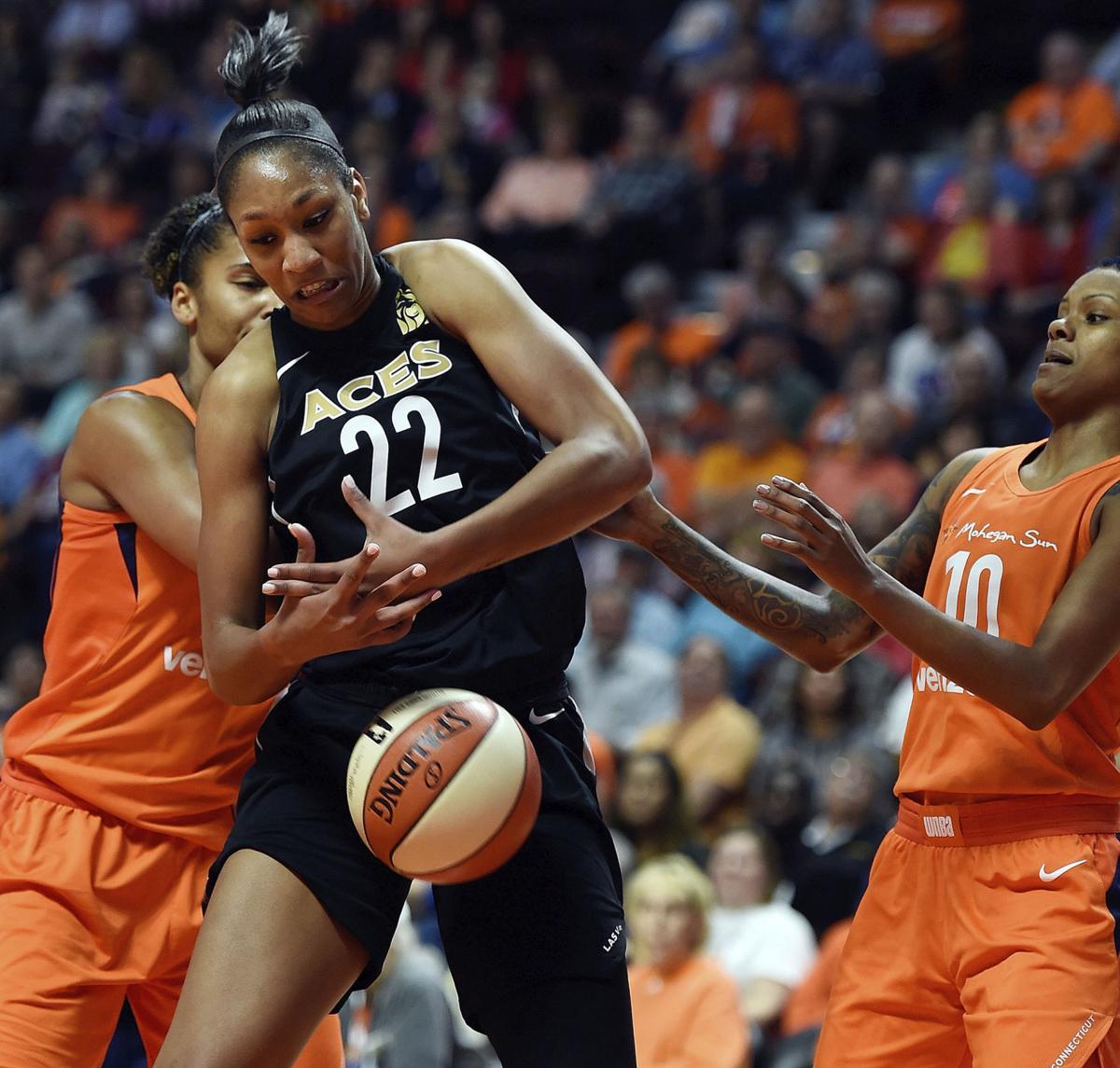 WNBA Wilson Progress Basketball