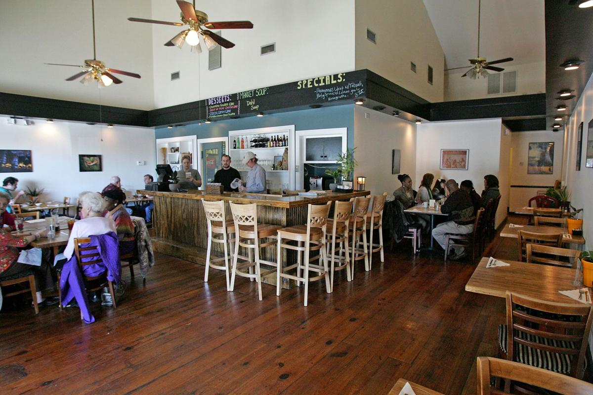 The Gathering Cafe W. Ashley neighborhood restaurant antidote for fast food with fresh, local flavors