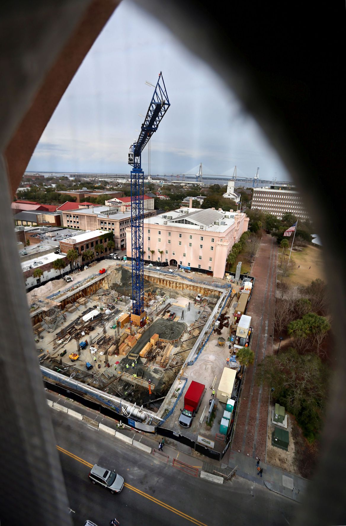 Charleston weighs freeze on downtown hotel projects