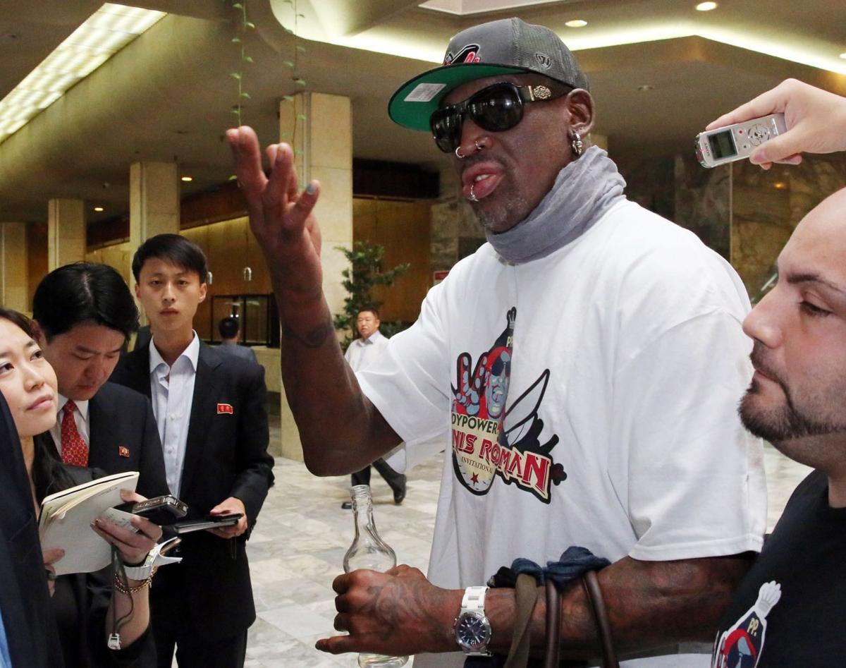 Rodman says he met North Korean leader again