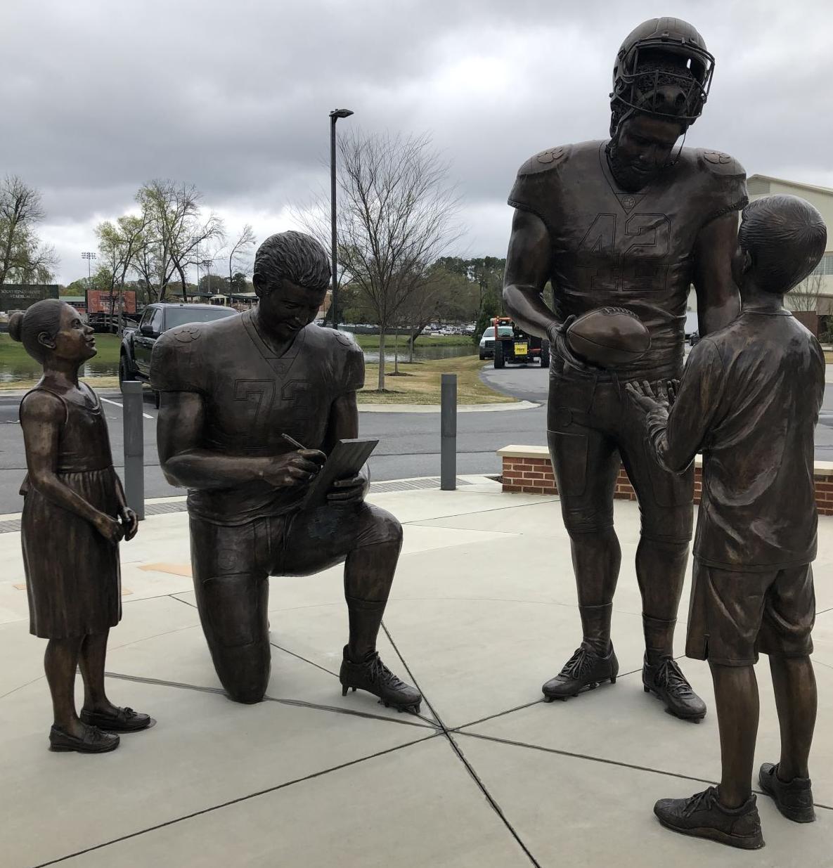 Clemson statue