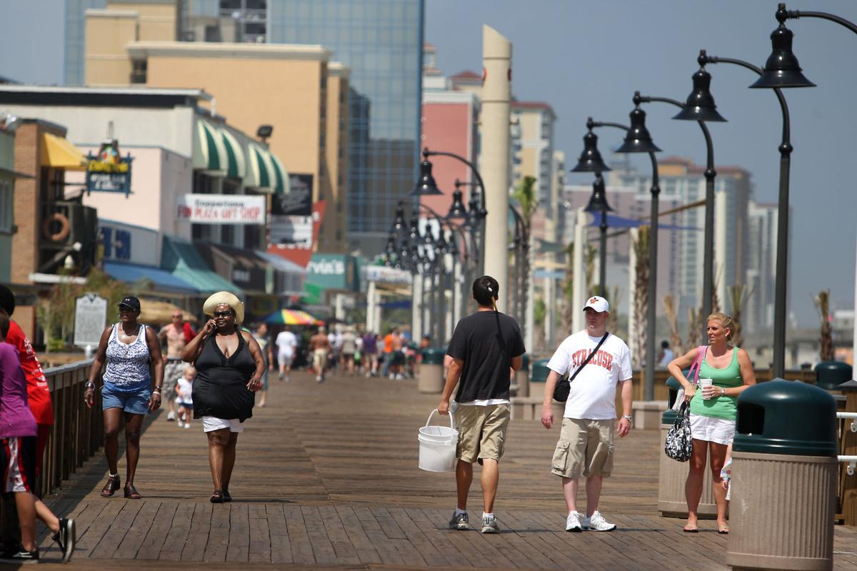 Tourists coming to Myrtle Beach on a budget