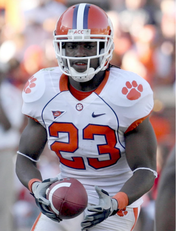 THE 2-MINUTE DRILL: With Clemson running back Andre Ellington