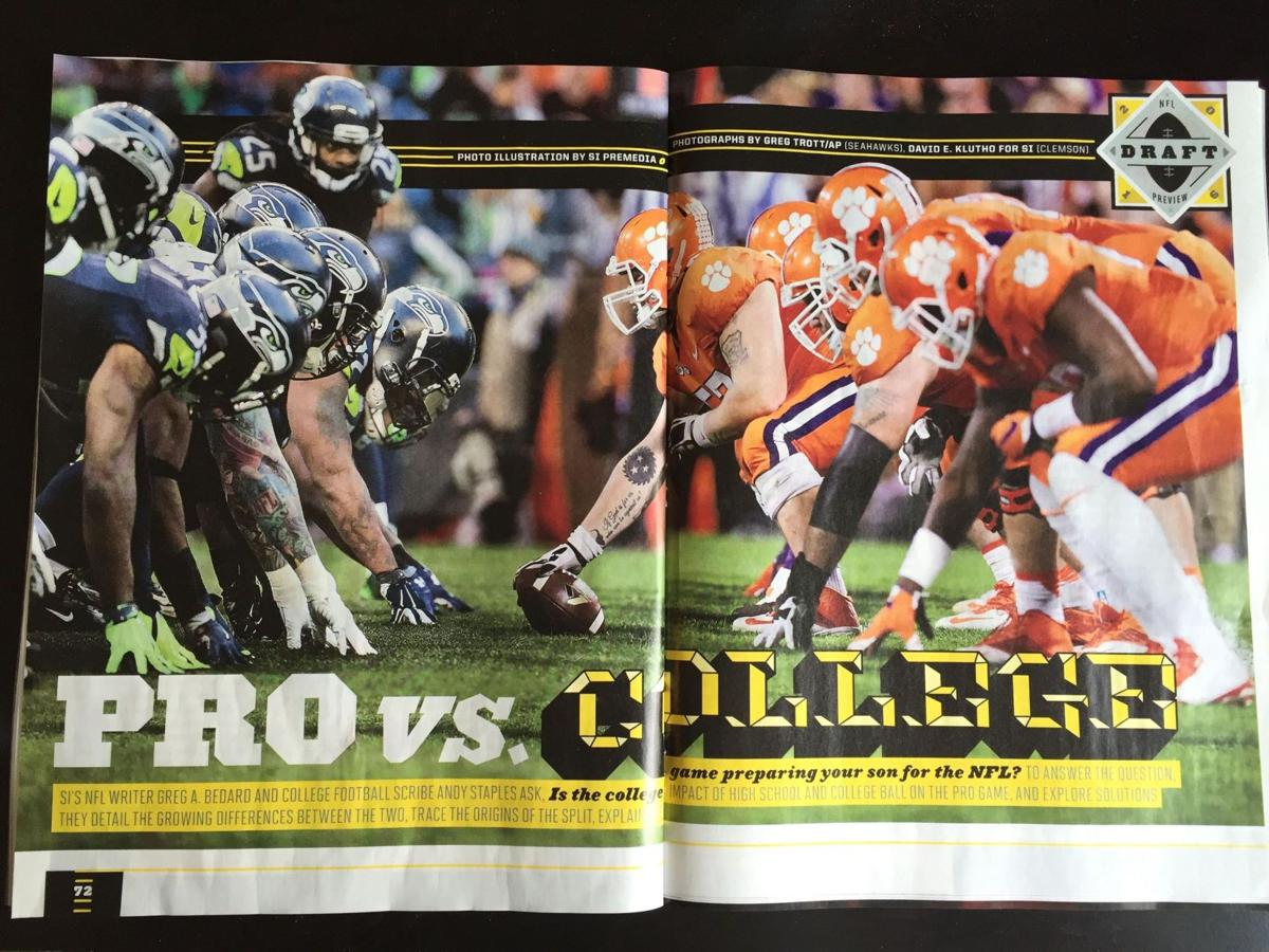 Clemson offense vs. Seahawks defense? Sports Illustrated draws it up for NFL Draft feature