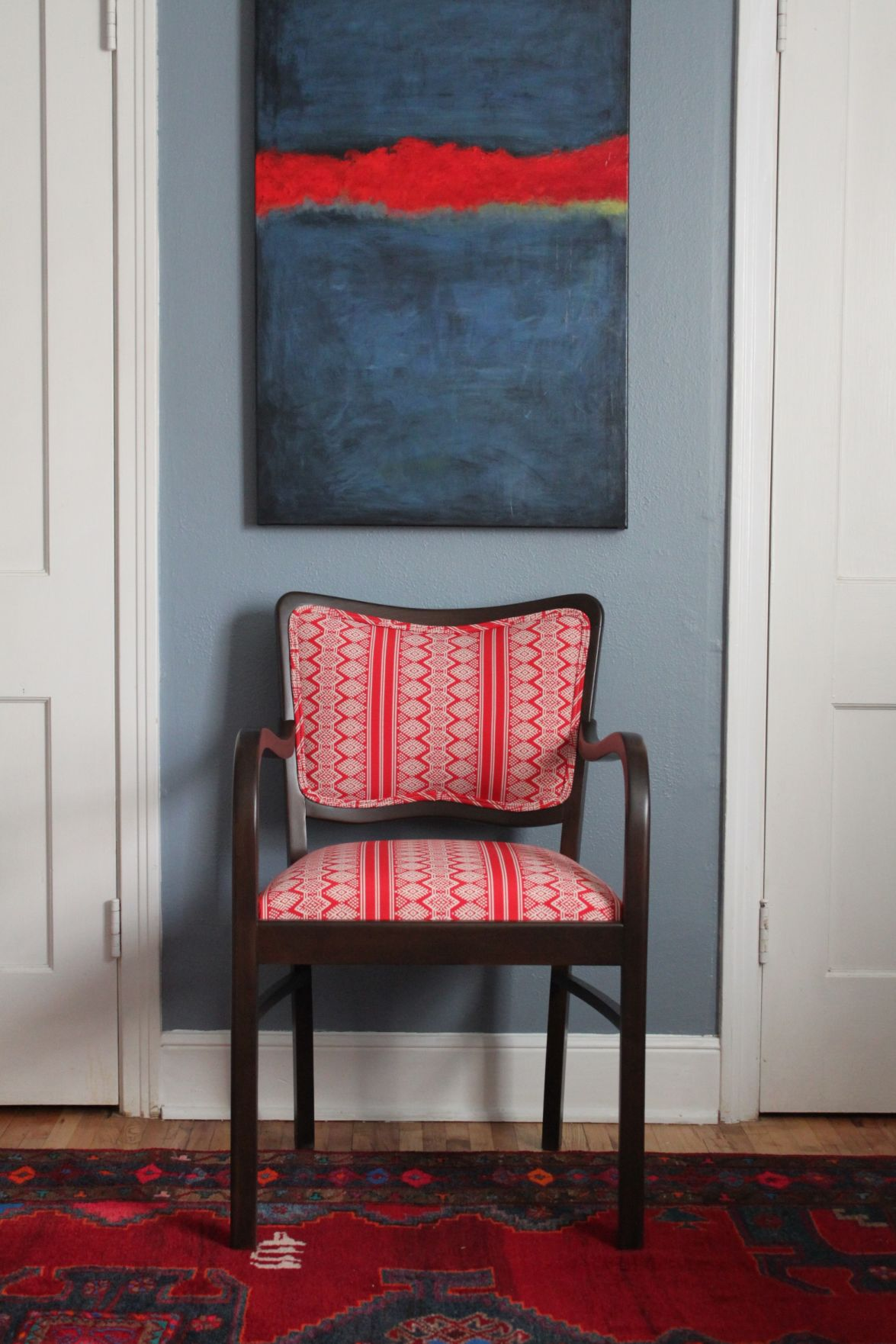 Instead of tossing old sofa, consider DIY reupholstery