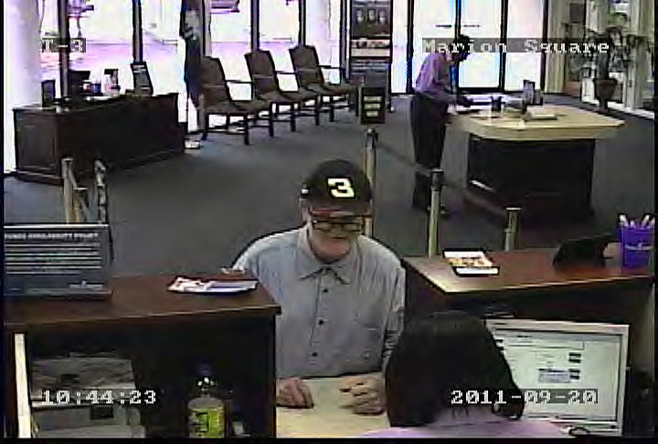Police responding to reported bank robbery downtown