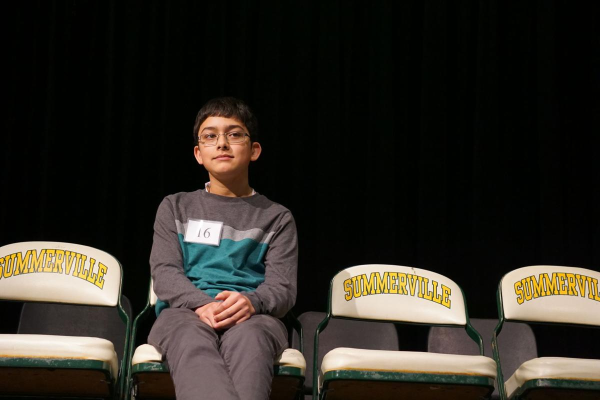 Drew David at Dorchester 2 Spelling Bee