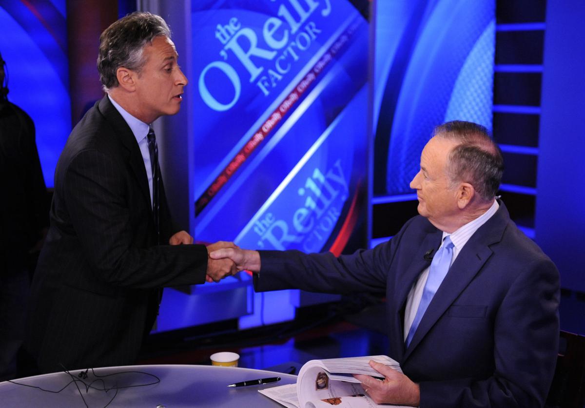 O'Reilly, Stewart rumble in mock debate