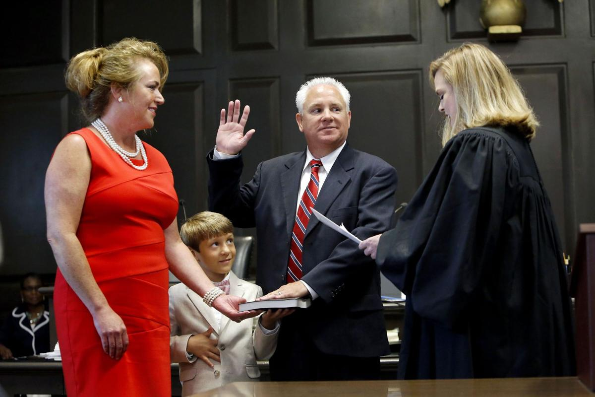 Lewis sworn in as Berkeley sheriff