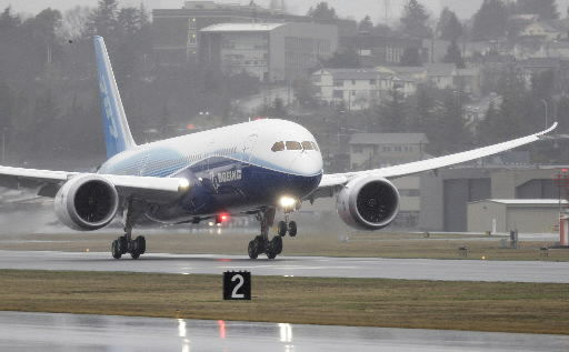 Boeing 787 assembly put on hold