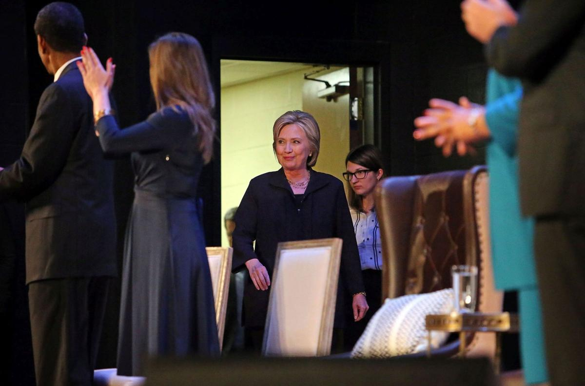 Hillary Clinton at North Charleston church