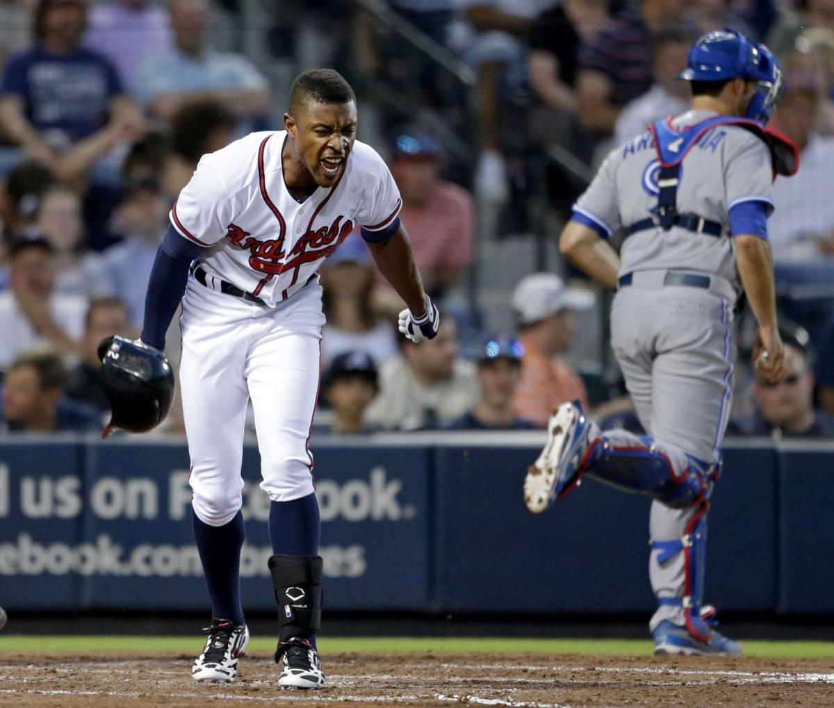 Braves' offense stuggles in loss