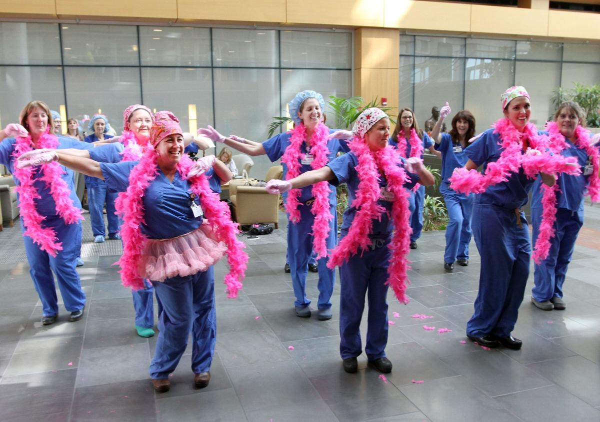 Hospitals get their dance on