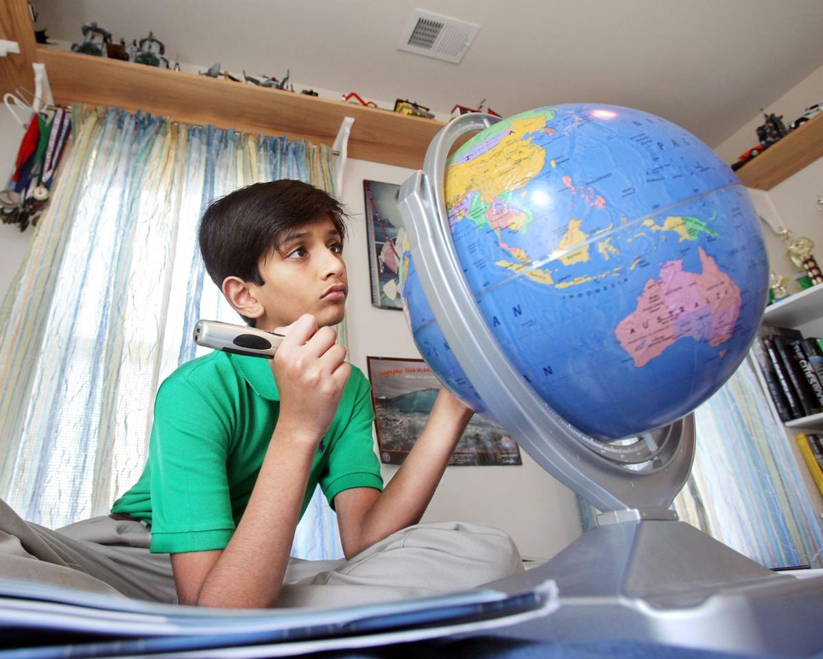 Pinewood Prep's Patel eliminated in National Geography Bee