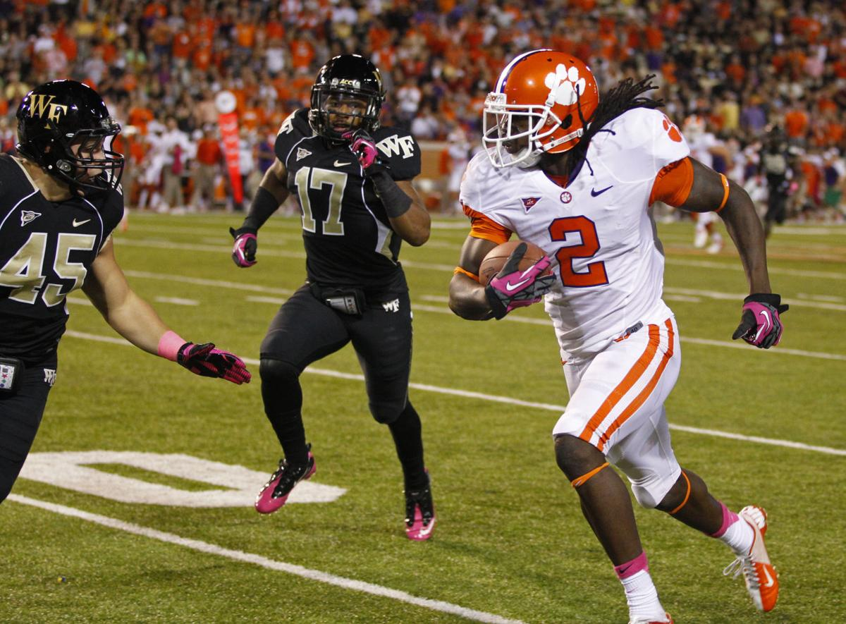 He's back: Sammy Watkins has first breakout performance of season, setting school record in rout of Wake