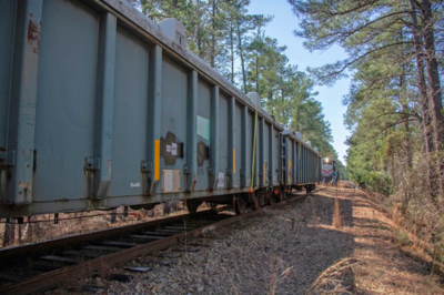 SRS Railcars, DOE Photo