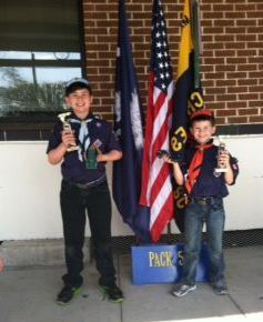 Scouts win at Pinewood Derby
