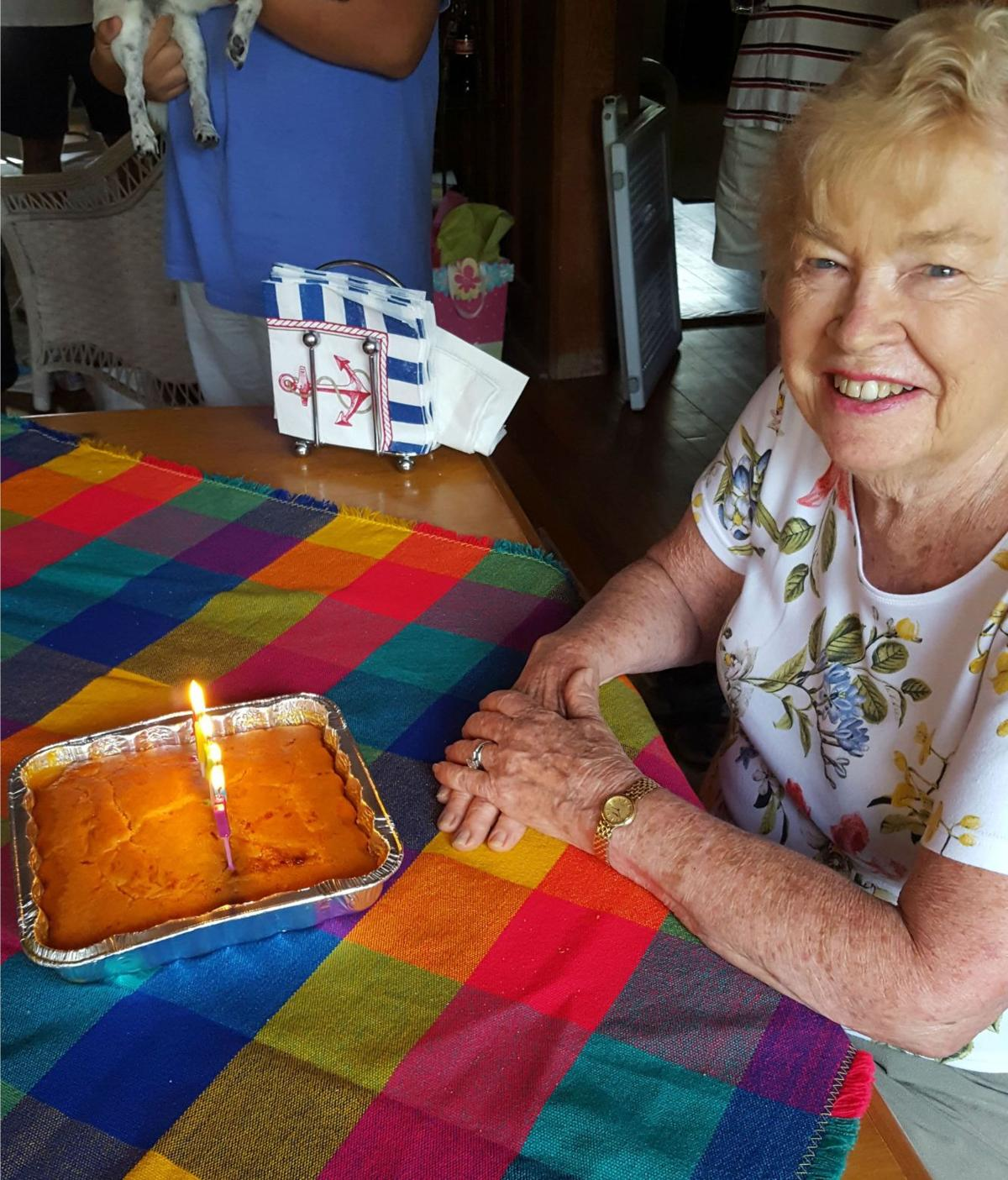 Star of 1967 Post-Courier Cookbook ad has her cake, eats it too
