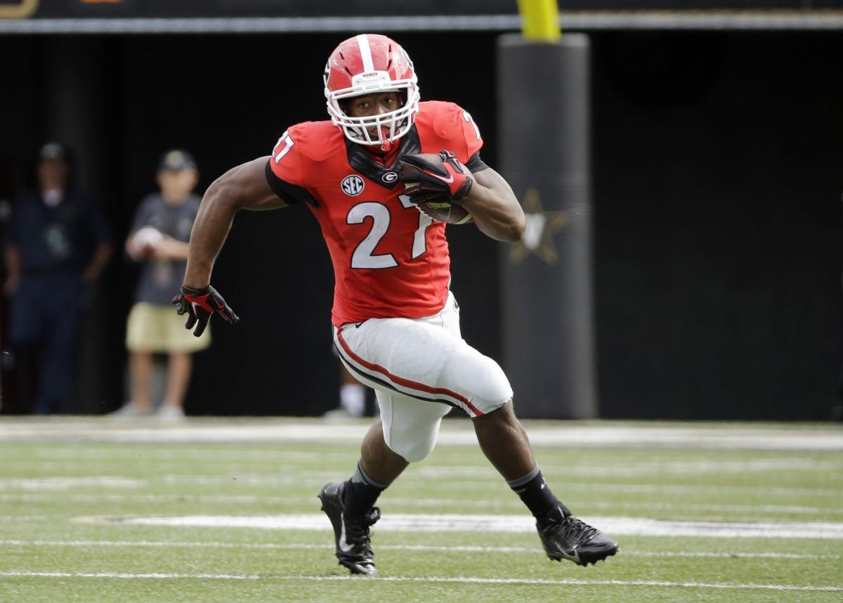 Gamecocks searching for complete-game effort to slow Georgia star Nick Chubb