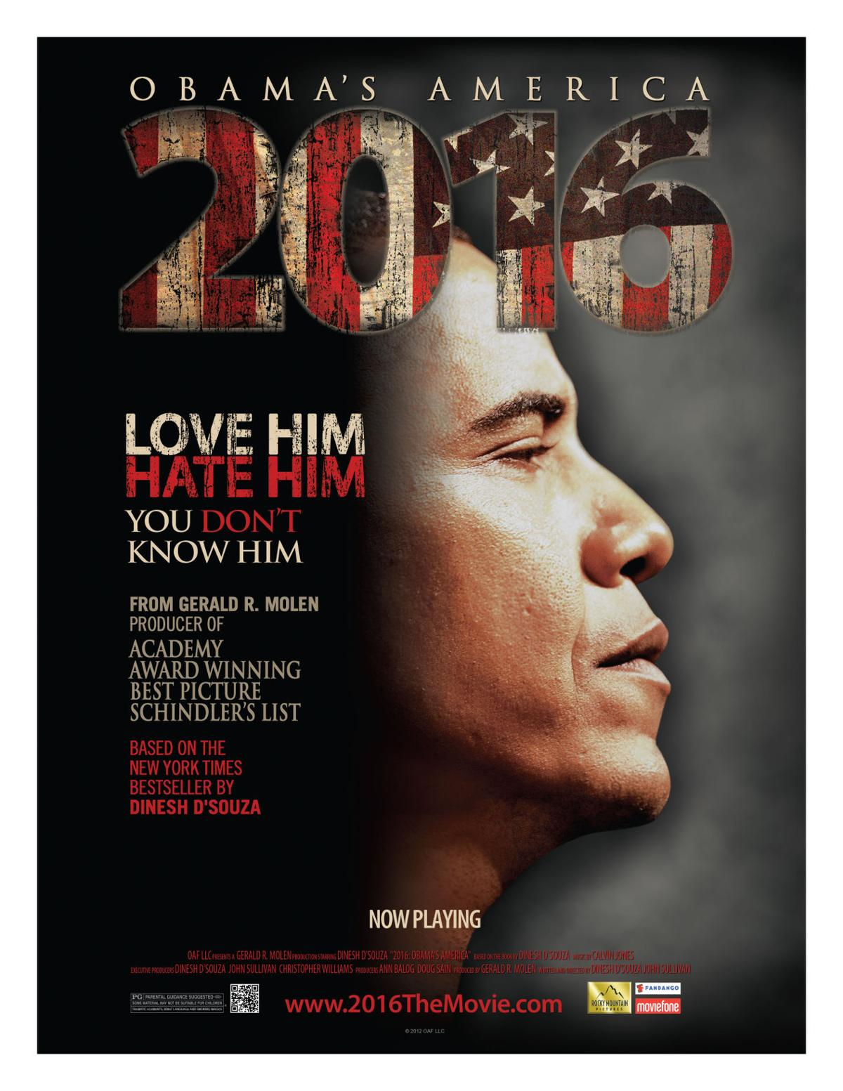 '2016: Obama's America' a conservative vision of Obama's second term
