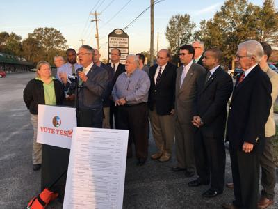 Local leaders call for half-cent sales tax support