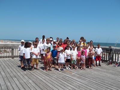 Youth fishing tourney on Folly