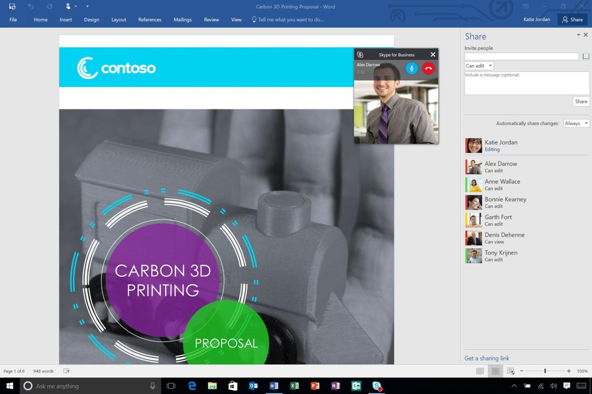 Microsoft Office update emphasizes collaboration
