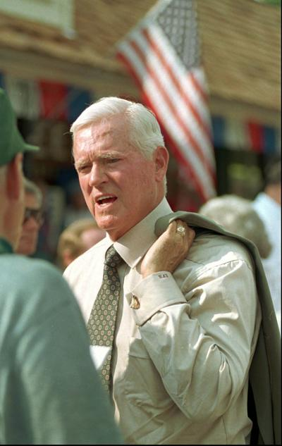 Fritz Hollings was a tough interview. But his staff loved the man