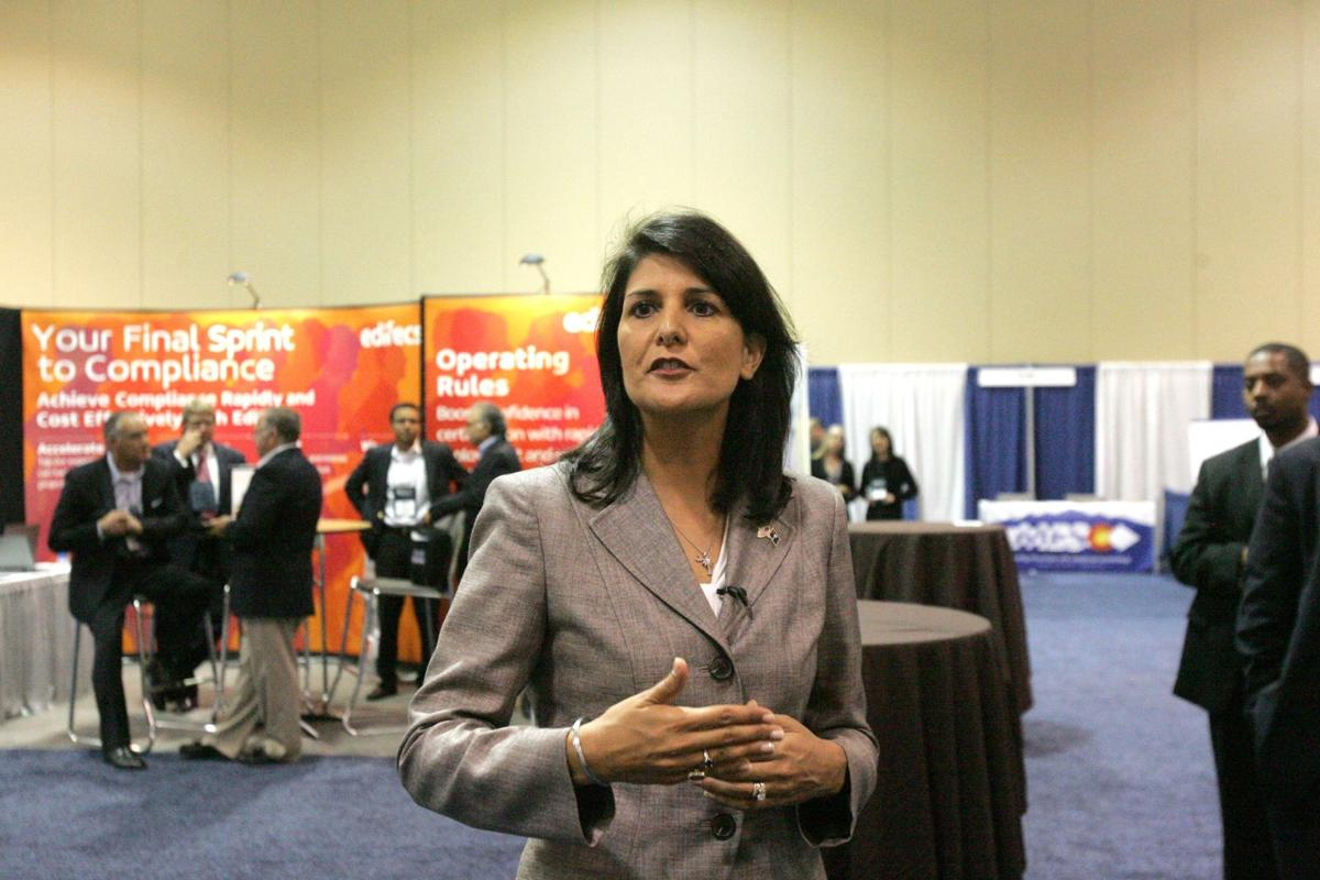 Gov. Nikki Haley talks rising health care costs at Medicaid conference in North Charleston