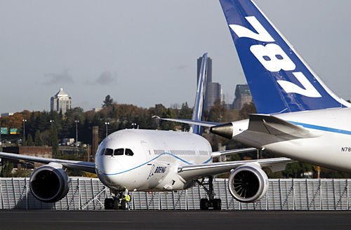 Another delay in delivery of 787: Seventh such setback will not affect North Charleston plant