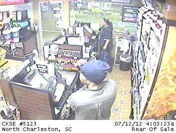 Robber fires round during North Charleston holdup; may be linked to other crimes