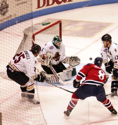 Stingrays face Gladiators in Kelly Cup Playoffs