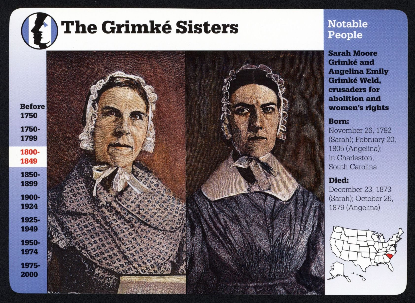 Grimke sisters honored Charleston to celebrate Lowcountry ...