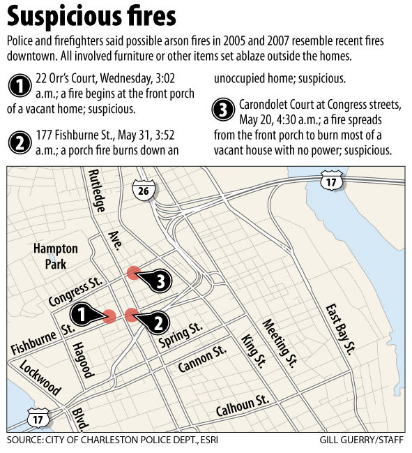 Fires join list of suspicious blazes