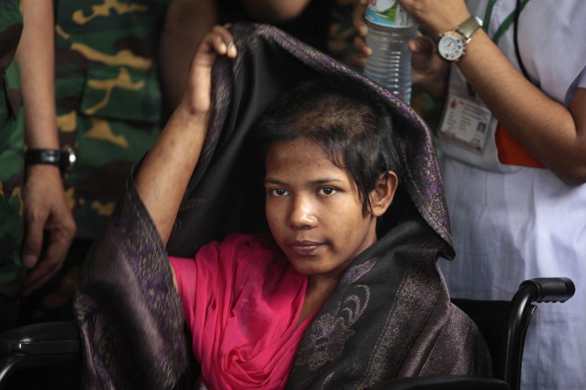 Survivor quits garment work