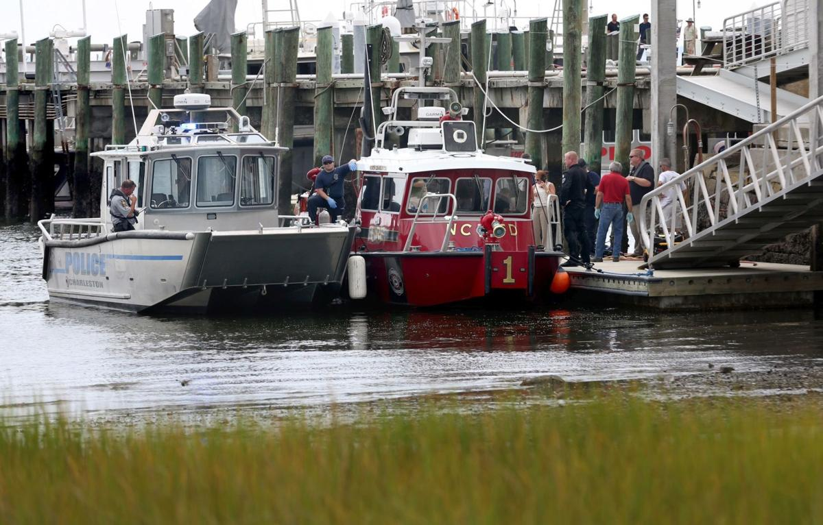 Body recovered from water near aircraft carrier Yorktown