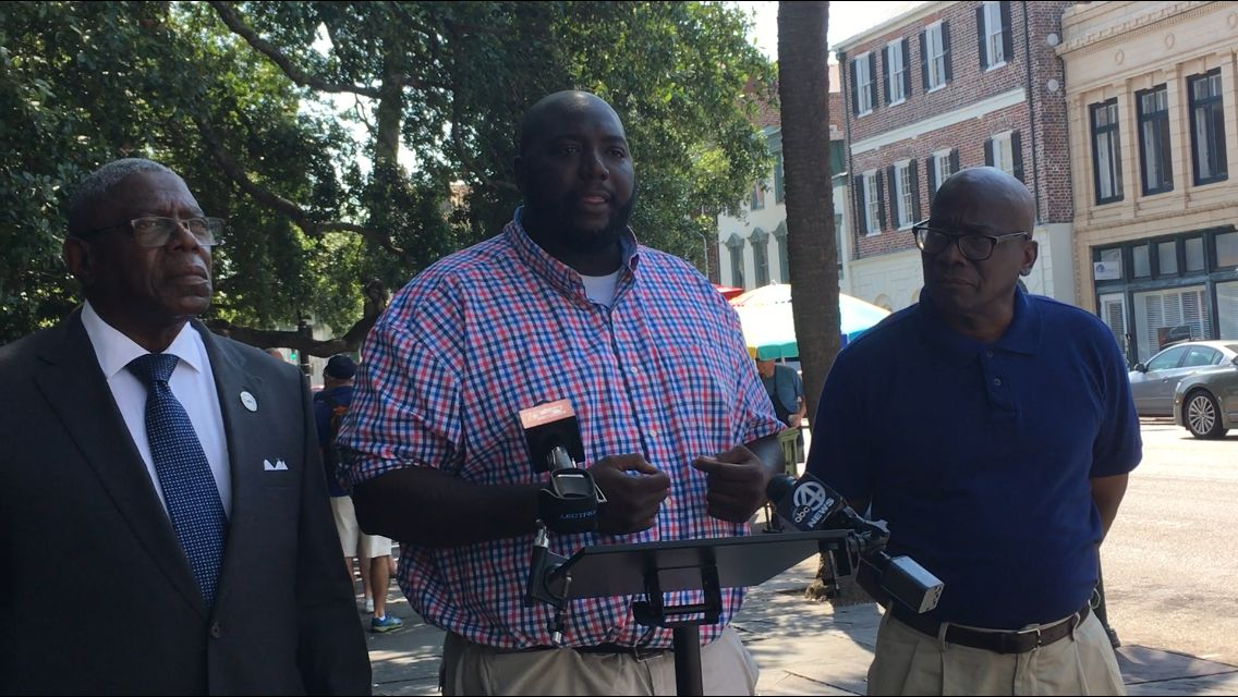 NAN press conference at Charleston City Hall