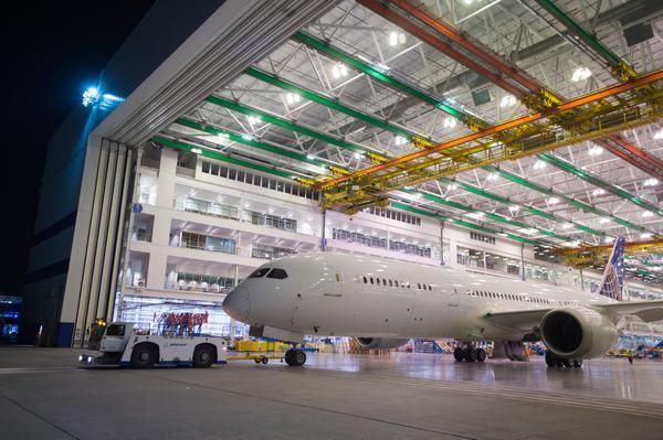 Boeing video shows debut of 1st 787-9 made in North Charleston