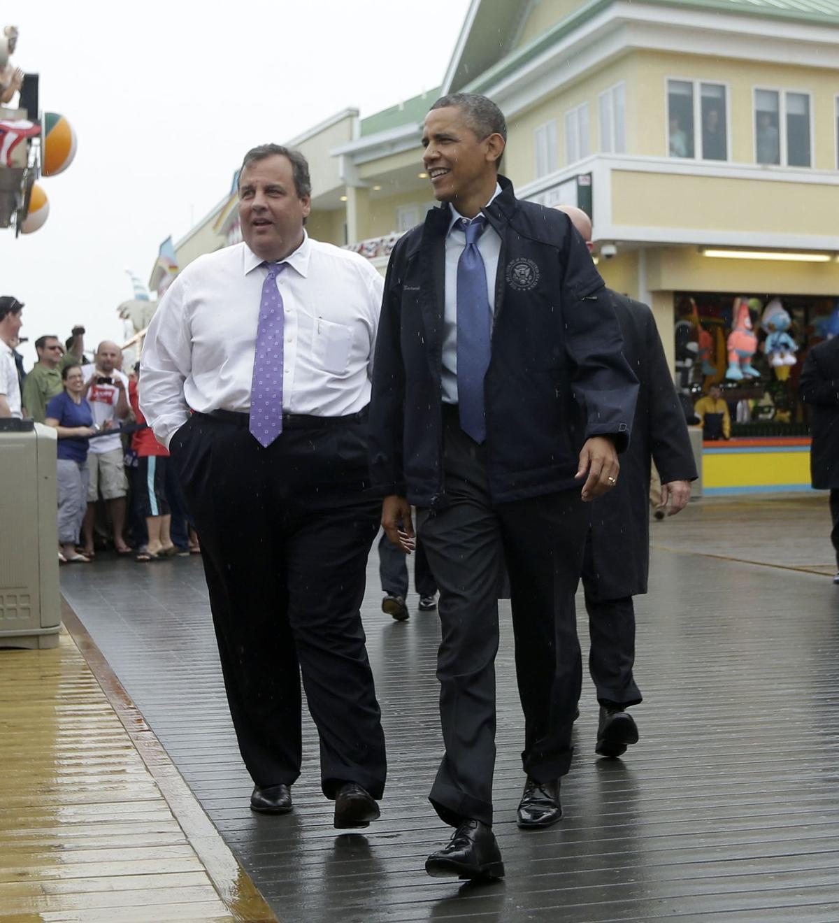 Obama, Christie back at it