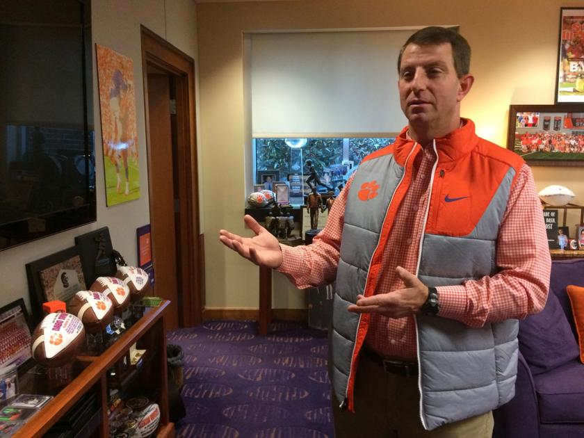 with national championship behind them dabo swinney says